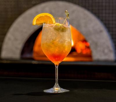 Aperol Spritz Cocktail at Ravello Bar & Grill