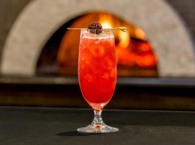 La mora Collins Cocktail at Ravello Bar & Grill
