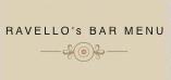 Ravello's Bar Menu
