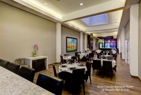 Gran Caruso Banquet Room at Ravello Bar & Grill